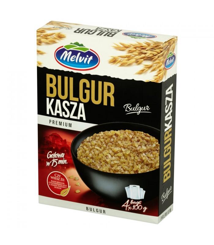 Melvit Premium Kasza Bulgur 4 X 100 G Chili24 Pl